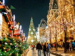 Новый год в Москве 3 дня